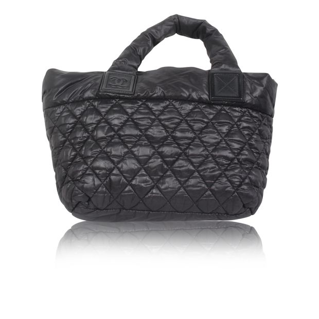 44122e24bcbf CHANEL Quilted Nylon Coco Cocoon Bag 2 thumbnail