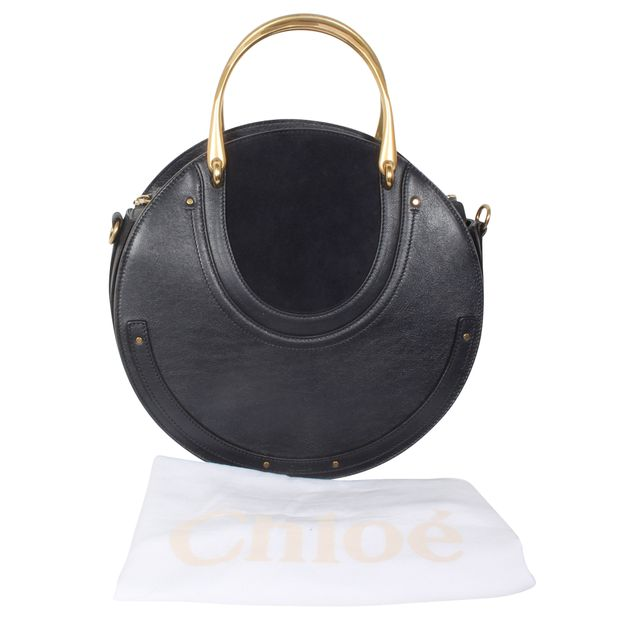 0c548e9a8dbd Pixie Large Suede And Textured-Leather Bag by CHLOÉ