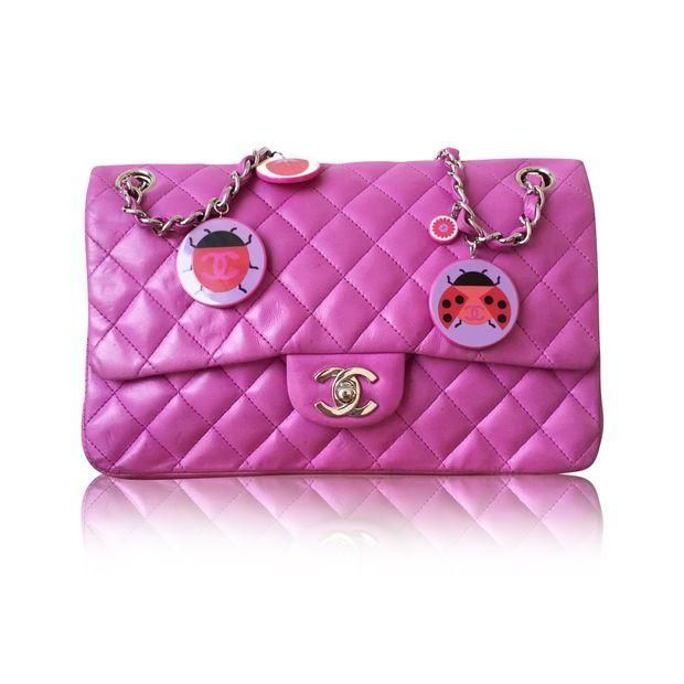 27ebd9881665 Rare Ladybug Flap Bag by CHANEL | StyleTribute.com