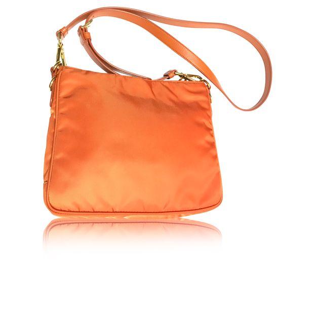 129f83ae9303 Tessuto Saffiano Crossbody Shoulder Bag by PRADA   StyleTribute.com