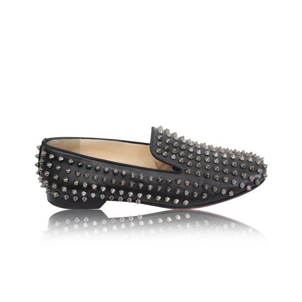 c4d8d91907c CHRISTIAN LOUBOUTIN Rolling Spikes Loafer 0 thumbnail