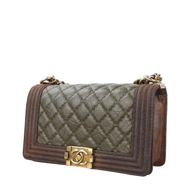 7edd32189618 Chanel Boy Calfskin Leather Bag by CHANEL | StyleTribute.com