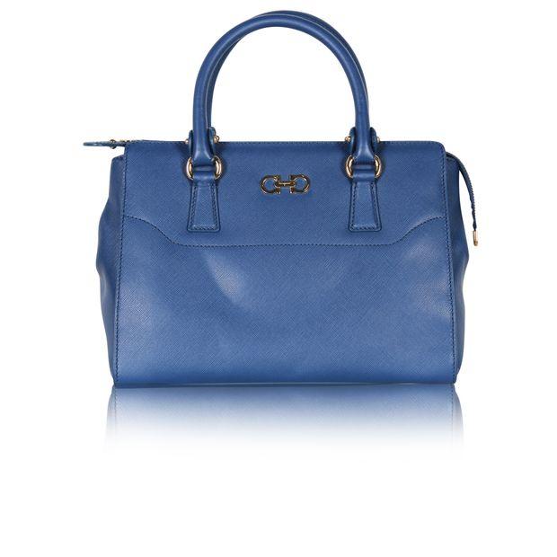 Beky Saffiano Tote Bag by SALVATORE FERRAGAMO  4ec5dd3551125