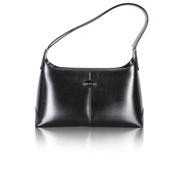 91e6386350a Black Patent Leather Handbag by TOD'S | StyleTribute.com