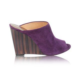1d56a5a3dcc Black Glitter 105 Wolf Tribute Sandal Heels by YVES SAINT LAURENT ...