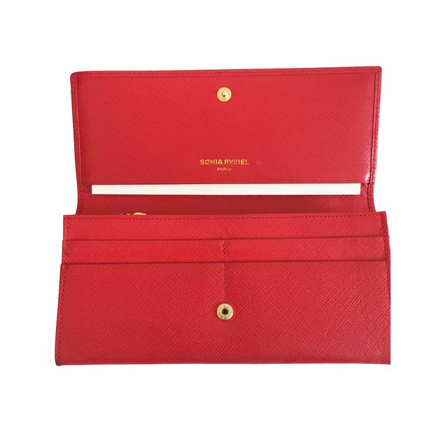 321e673cf5 Vintage Red purse by SONIA RYKIEL | StyleTribute.com