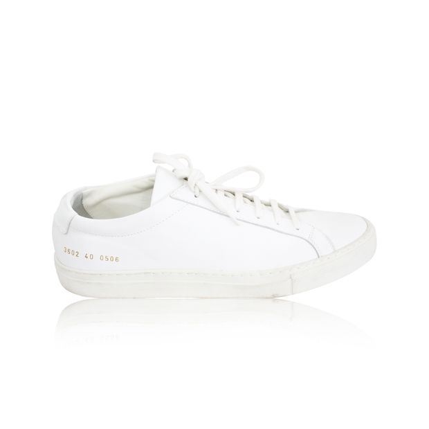 Authentic Second Hand White Sneakers by