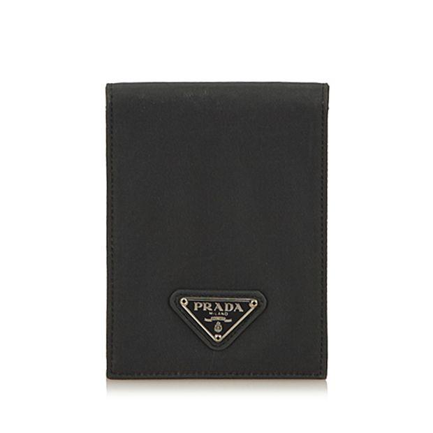 7e52d0194c795e Nylon Passport Cover by PRADA | StyleTribute.com