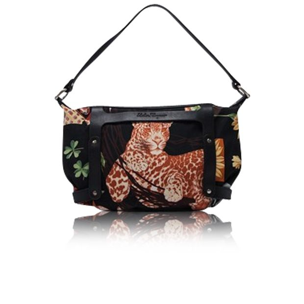2cfa47ee4715bf Leopard Print Bag by SALVATORE FERRAGAMO | StyleTribute.com