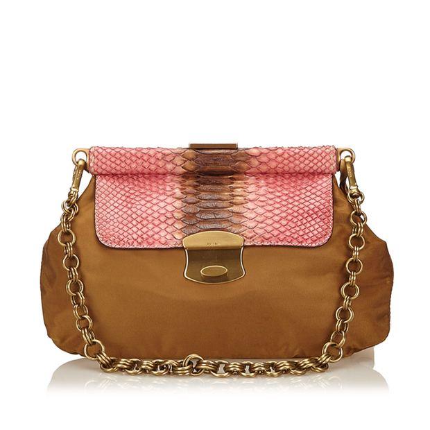 8042712ddc Nylon Chain Bag by PRADA