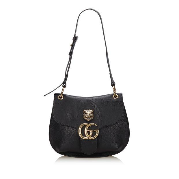 92687c74286 GUCCI GG Marmont Animalier Shoulder Bag GUCCI GG Marmont Animalier Shoulder  Bag zoomed
