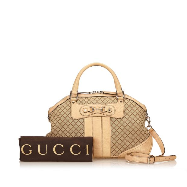 dfd535df25b Horsebit Cathrine Diamante Handbag by GUCCI