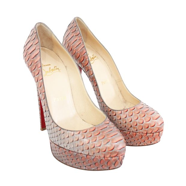 official photos 96a49 6a997 Real Snakeskin Pumps