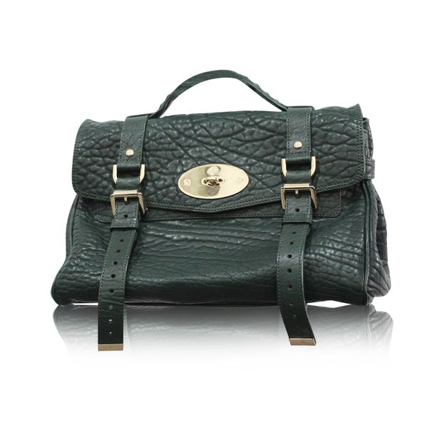 2905e32ca79 Pheasant Green Alexa Bag by MULBERRY | StyleTribute.com