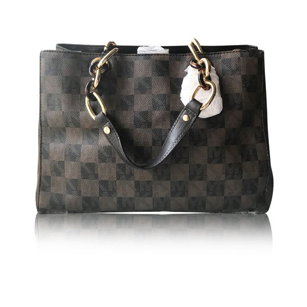 1c3064ef5569f7 Cynthia Checkers Tote Bag by MICHAEL KORS | StyleTribute.com