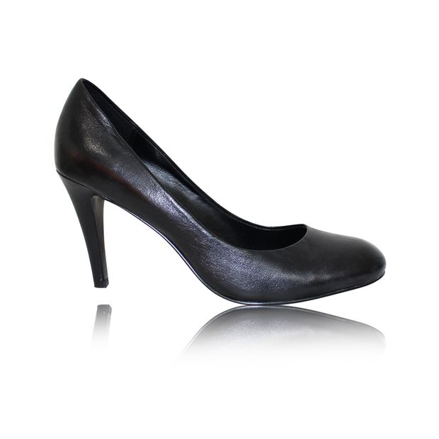 b277588b1b Black Leather Pumps by ASH | StyleTribute.com