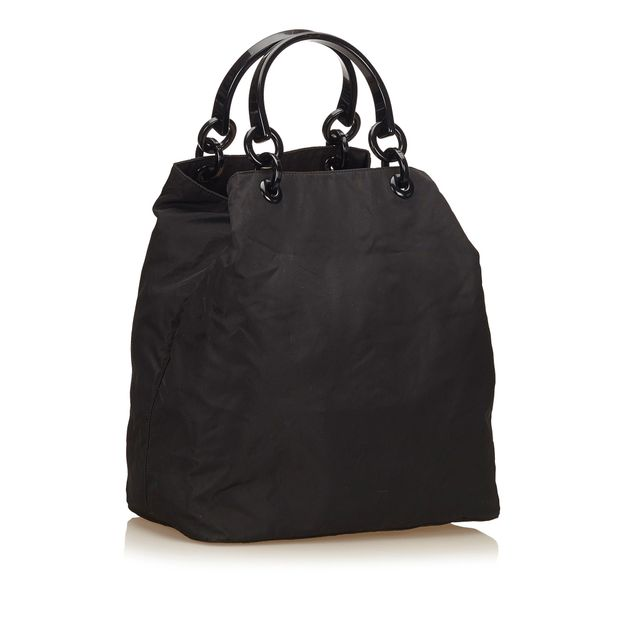 643332a9df4091 Nylon Tote Bag by PRADA | StyleTribute.com