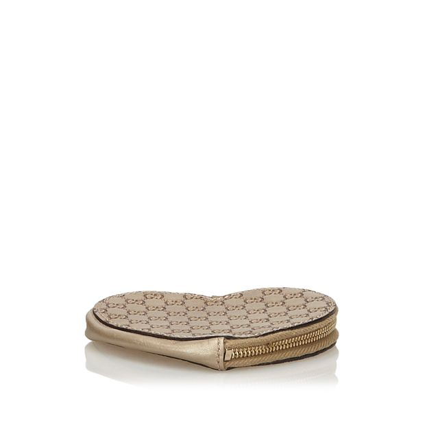 1be3d2ca2cf3 Guccissima Heart Coin Pouch by GUCCI   StyleTribute.com