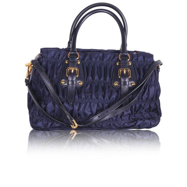 fc597efb45 PRADA Tessuto Gaufre Nylon Bag 2 thumbnail