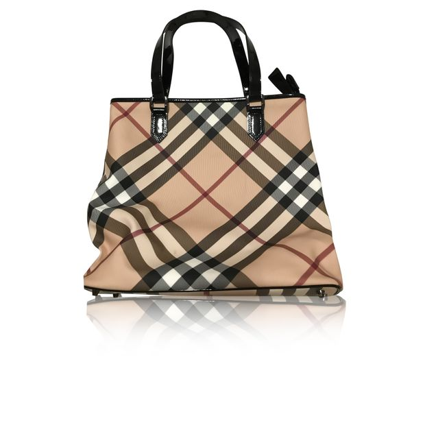 4c51af581 Classic Canvas Tote Bag by BURBERRY | StyleTribute.com