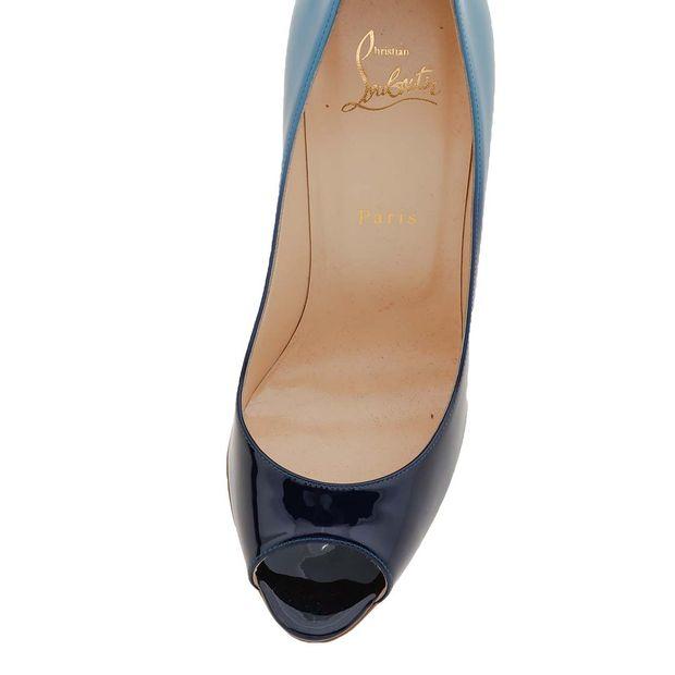 size 40 06f85 f6566 Blue Patent Leather Degrade Yootish