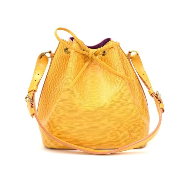 05bf4afaefa2 Vintage Petit Noe Yellow Epi Leather Shoulder Bag by LOUIS VUITTON ...