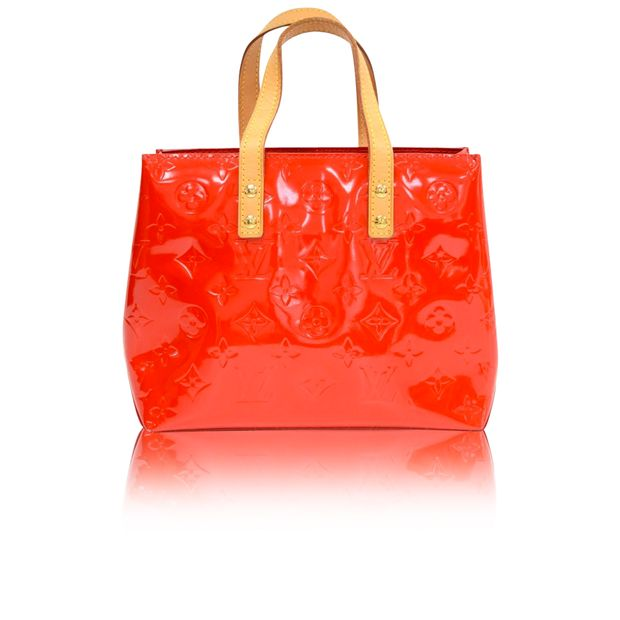 448ca9845 Reade PM Red Vernis Leather Bag by LOUIS VUITTON | StyleTribute.com