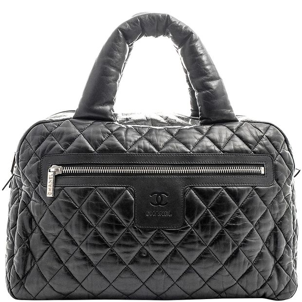 0efac29a5b6c Coco Cocoon Large Bowling Bag by CHANEL | StyleTribute.com