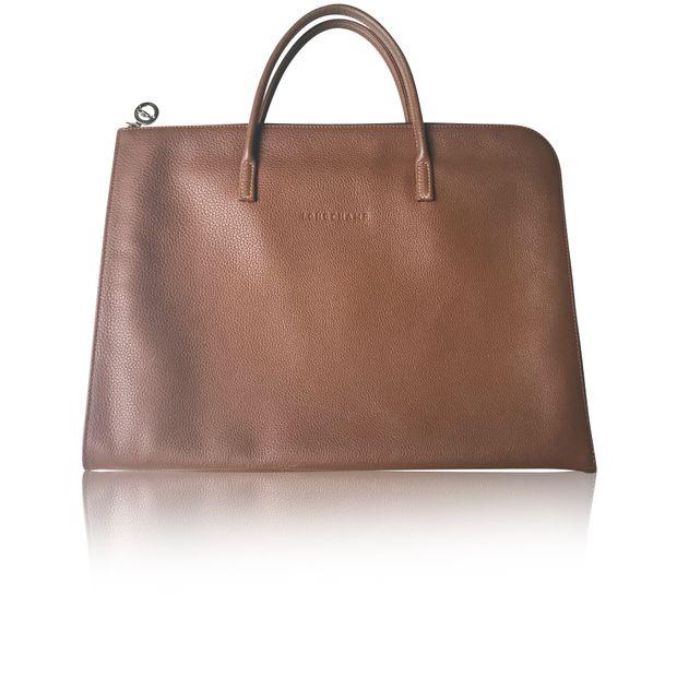 da224148b41f LONGCHAMP Longchamp New leather Tan laptop Bag 0 thumbnail