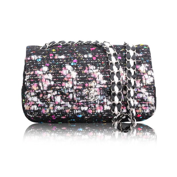 149498efa5f71c Multicolour Tweed Classic Flap Bag by CHANEL | StyleTribute.com