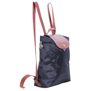 8983f7ade4616 1. sold. LONGCHAMP. Black Le Pliage Backpack