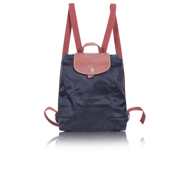 75546193280 Black Le Pliage Backpack by LONGCHAMP | StyleTribute.com