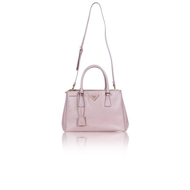 02dba7c59e81 Cammeo Saffiano Lux Double Zip Small Tote Bag by PRADA ...