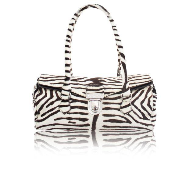 71a293207b23 Ponyhair Animal Print Baguette Bag by PRADA