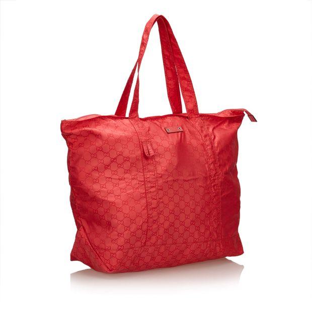 ce09a0edc06a Guccissima Nylon Tote Bag by GUCCI   StyleTribute.com