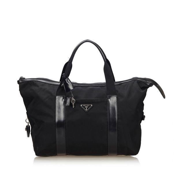 f0f028c5c840 Nylon Travel Bag by PRADA | StyleTribute.com