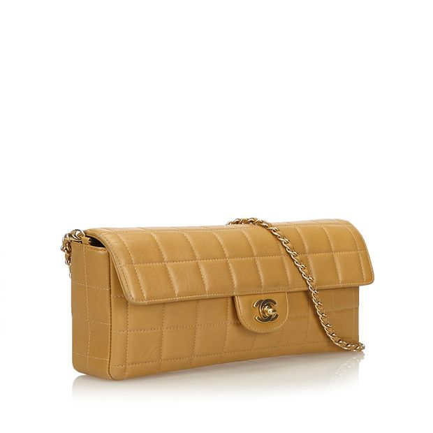 84a031741bb6 East West Chocolate Bar Flap by CHANEL   StyleTribute.com