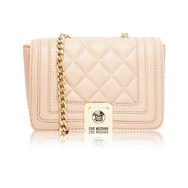 6d1e79347f9 Light Pink handbag by LOVE MOSCHINO | StyleTribute.com