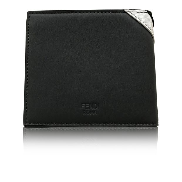 1f4e9e18 Fendi Monster Eye 8cc Bifold Wallet