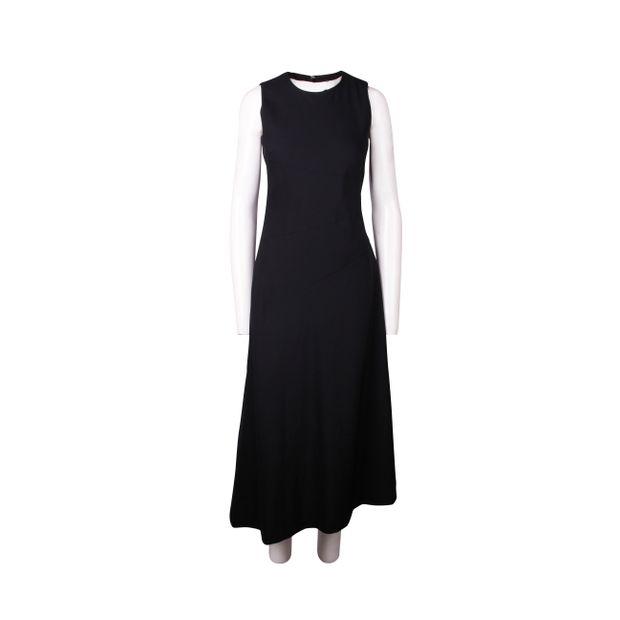 9864830da4f DKNY Long Black Sleeveless Dress DKNY Long Black Sleeveless Dress zoomed