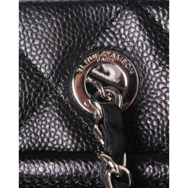 e401f63c1e CHANEL Black Caviar Timeless Tote GST Grand Shopping Bag GHW 4 thumbnail
