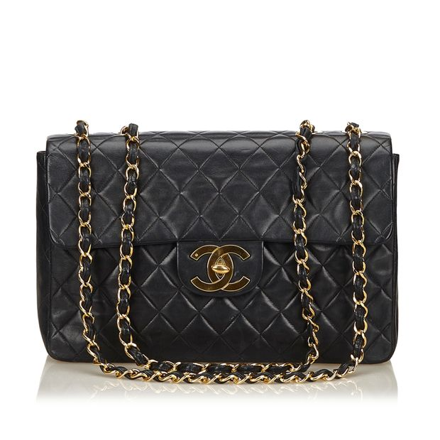 6c3dc3162804 Maxi Lambskin Classic Flap Bag by CHANEL