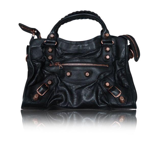 fbca54e92a Tote Bag With Rose Gold Hardware By Balenciaga Styletribute. Balenciaga  Giant City ...
