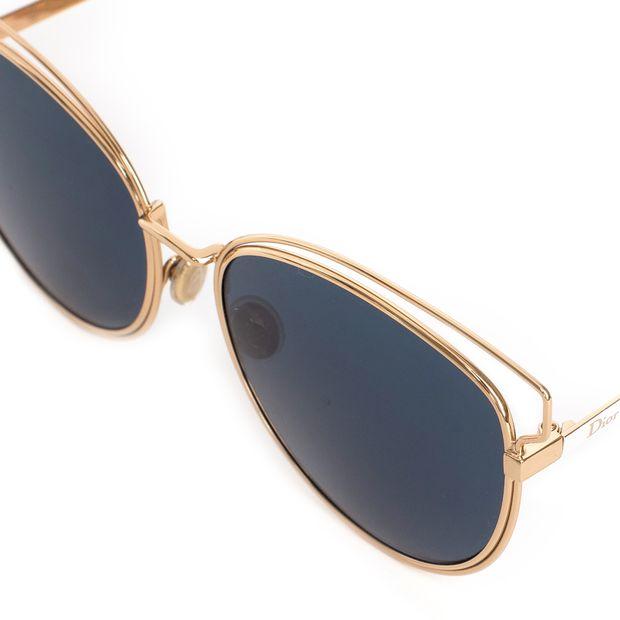 b909e9a0878 DIOR  Wildly Dior  Gold Frame Sunglasses 2 thumbnail