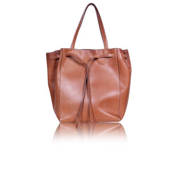 Brown Cabas Phantom Tie Medium Tote Bag by CELINE  8439c96c818c7