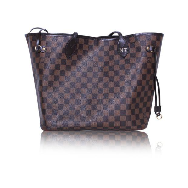 b0fad56184d1 Neverfull MM Damier Ebene Tote Bag by LOUIS VUITTON