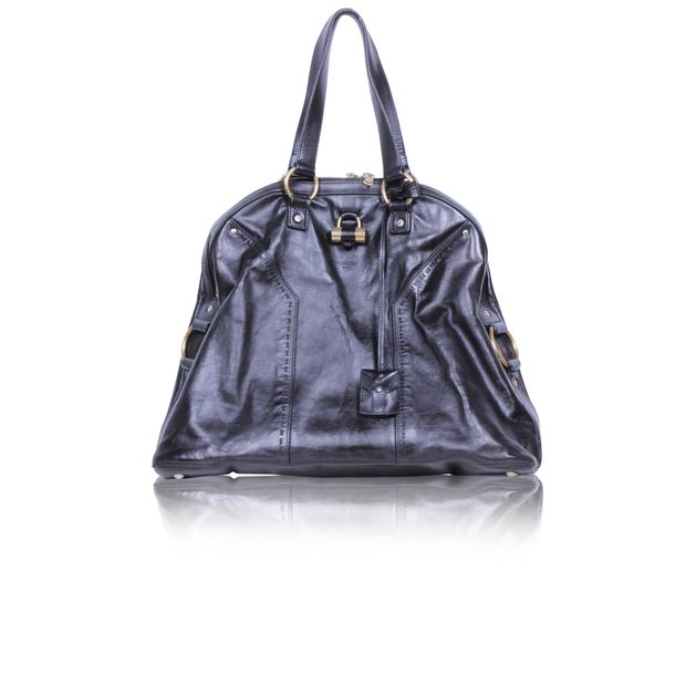 9fcf74e931 Oversized Muse 1 Patent Leather Tote Bag by YVES SAINT LAURENT ...