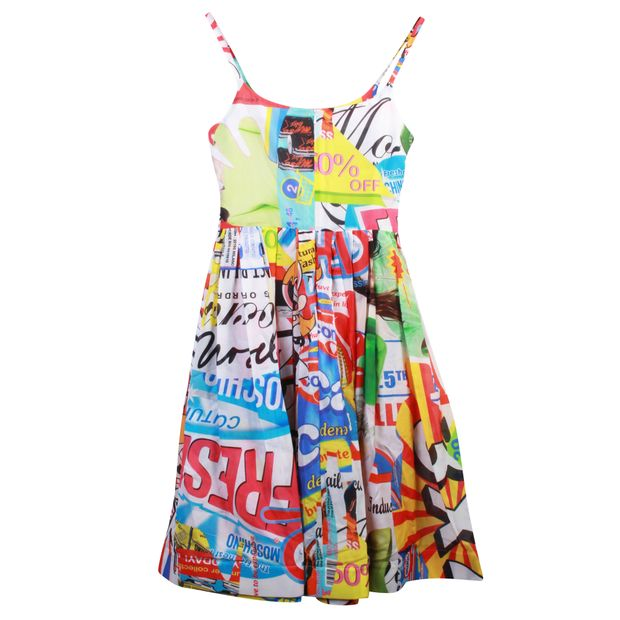 f05a7440b6 MOSCHINO Powerpuff Girls Multicolor Dress With Pockets 3 thumbnail