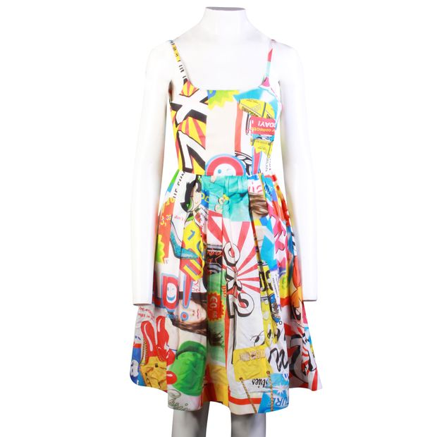 7c32642f7a MOSCHINO Powerpuff Girls Multicolor Dress With Pockets 1 thumbnail