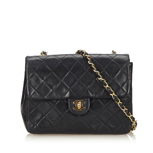 8c6957da42a2 Matelasse Leather Flap Chain Bag by CHANEL | StyleTribute.com